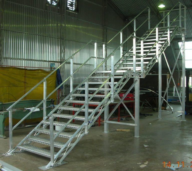 Beam stair